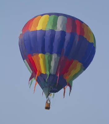 Balloon Digital Art - Hot Air Balloon  by Betsy Knapp