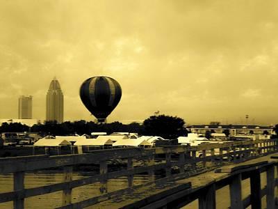 Floyd Smith Photograph - Hot Air Balloon by Floyd Smith