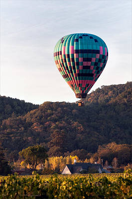 Photograph - Hot Air Balloon by Gary Rose