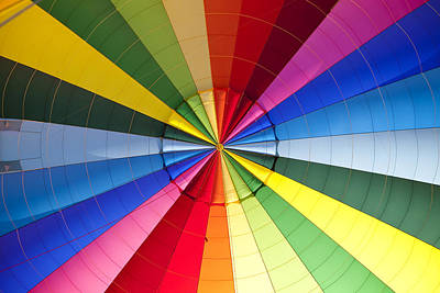 Y120831 Photograph - Hot Air Balloon by Miguel Pereira