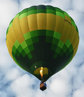 Photograph - Hot Air Balloon by Zoe Ferrie