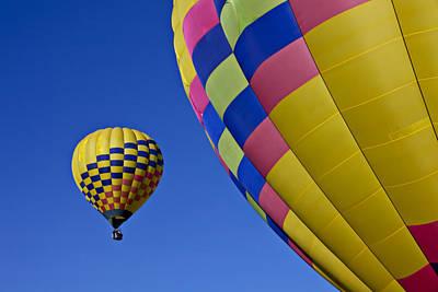 Photograph - Hot Air Balloons by Garry Gay