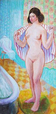 Painting - Hot Bath by Aileen Markowski