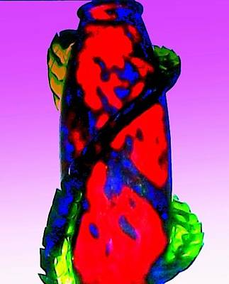 Photograph - Hot Glass 53 by Randall Weidner
