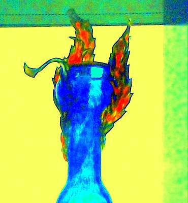 Photograph - Hot Glass 75 by Randall Weidner
