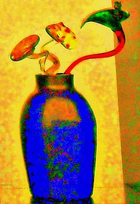 Photograph - Hot Glass Two by Randall Weidner