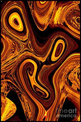 Photograph - Hot Lava by Denise Oldridge
