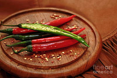 Hot Pleasures From Mexico Art Print by Inspired Nature Photography Fine Art Photography