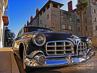 Photograph - Hot Ride At The Casa Monica by Elizabeth Hoskinson