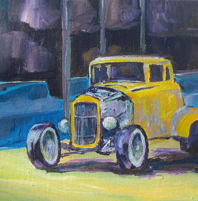 Painting - Hot Rod by Sandy Tracey
