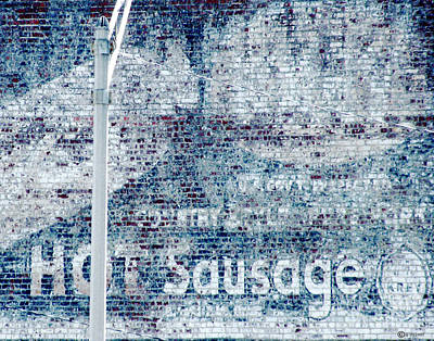 Digital Art - Hot Sausage by Lizi Beard-Ward