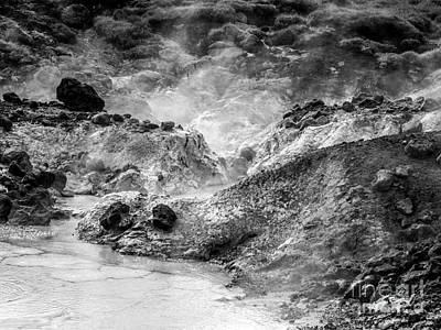 Photograph - Hot Spring by Michael Canning