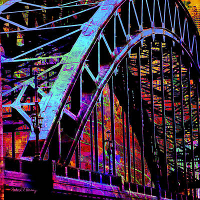 Digital Art - Hot Town Summer In The City by Barbara Berney
