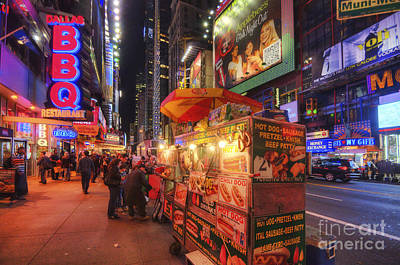 Hotdog Stands Photograph - Hotdog Stands by Yhun Suarez