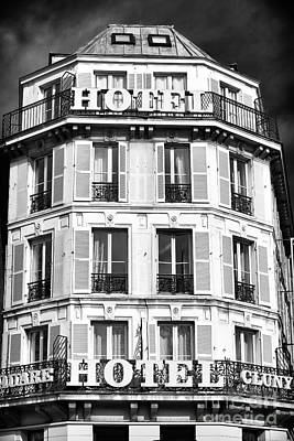 Photograph - Hotel Cluny by John Rizzuto