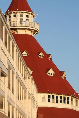 Photograph - Hotel Del Coronado by Van Corey