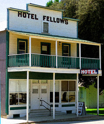 Hotel Fellows 2 Art Print by Timothy Bulone