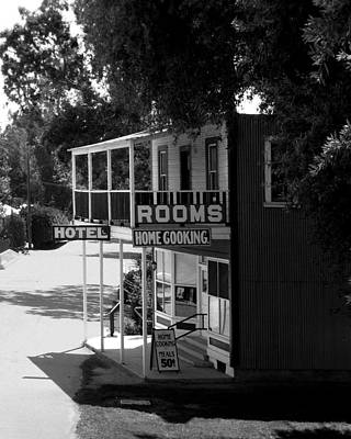 Photograph - Hotel Fellows by Timothy Bulone