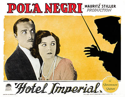 Hotel Imperial, From Left James Hall Art Print by Everett
