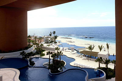 Photograph - Hotel In Cabo San Lucas by Emanuel Tanjala