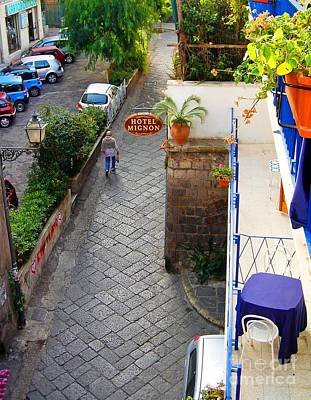 Photograph - Hotel Mignon Sorrento by Phillip Allen
