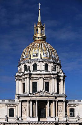 Hotel Des Invalides Photograph - Hotel National Des Invalides by John Rizzuto