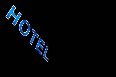 Motel Photograph - Hotel by Stelios Kleanthous