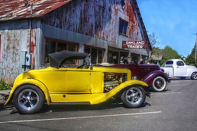 Photograph - Hotrods At The Trader by Tyra  OBryant