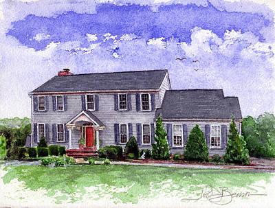 Painting - House 1 by John D Benson