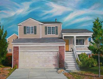 Painting - House Commision by Nancy Griswold