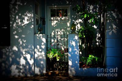 House Door 11 In Charleston Sc  Art Print by Susanne Van Hulst