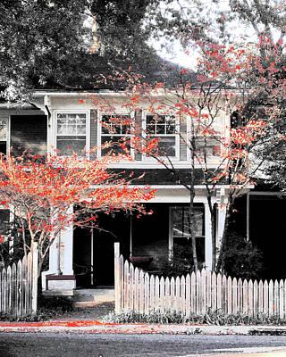Digital Art - House In Cooper Young by Lizi Beard-Ward