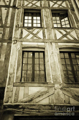 Digital Art - House In Rouen France 2 by Donna Munro