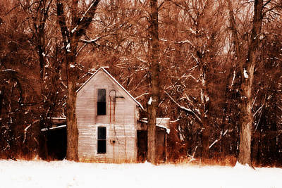 Photograph - House In The Woods by Cheryl Helms