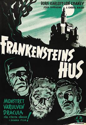 House Of Frankenstein, Aka Print by Everett