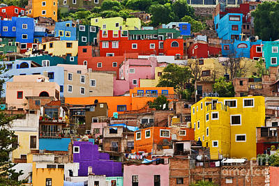 Art Print featuring the photograph House Of Guanajuato - Mexico by Craig Lovell