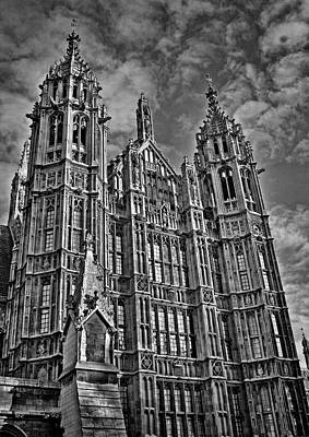 Westminster Photograph - House Of Lords by Heather Applegate