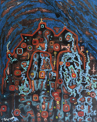 Painting - House Of Spirits by Todd  Peterson