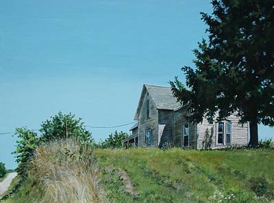 Painting - House On The Hill by William Brody