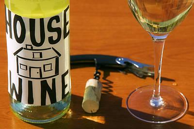 Photograph - House Wine by John Galbo