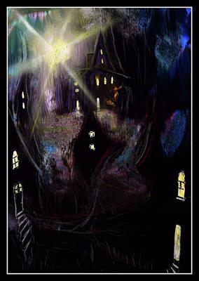 houses of Avalon Print by Ricardo Di ceglia