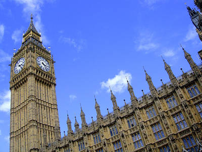Houses Of Parliament Art Print by Roberto Alamino