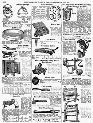 Housewares, 1895 Art Print by Granger