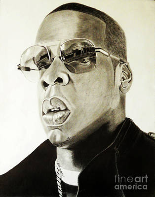 Jay Z Drawing - Hovi by Saheed Fawehinmi