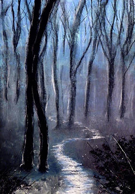 How The Trees Make Little Trees Art Print by Ricardo Di ceglia