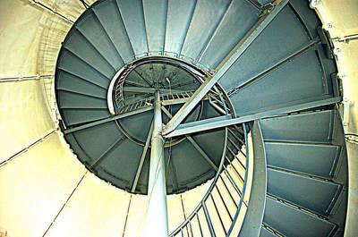 How To Clmb A Lighthouse Art Print by Bruce Carpenter
