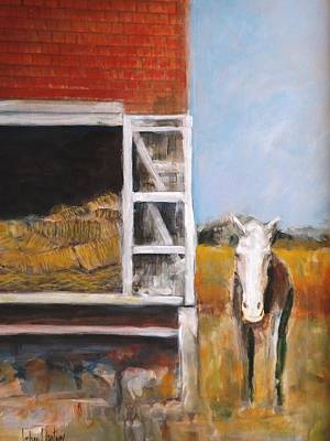 Painting - Howdy Lets Ride by Gary Partin