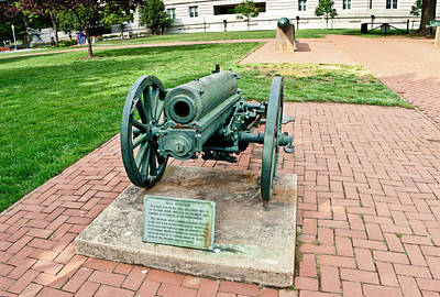 Art Print featuring the photograph Howitzer by Marianne Campolongo