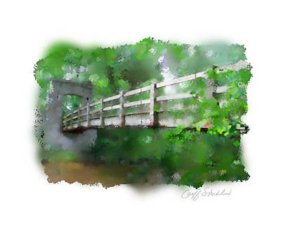 Digital Art - Hoyt Bridge 3 by Geoff Strehlow