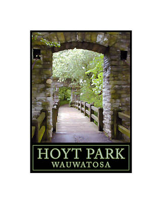 Digital Art - Hoyt Park Wauwatosa by Geoff Strehlow